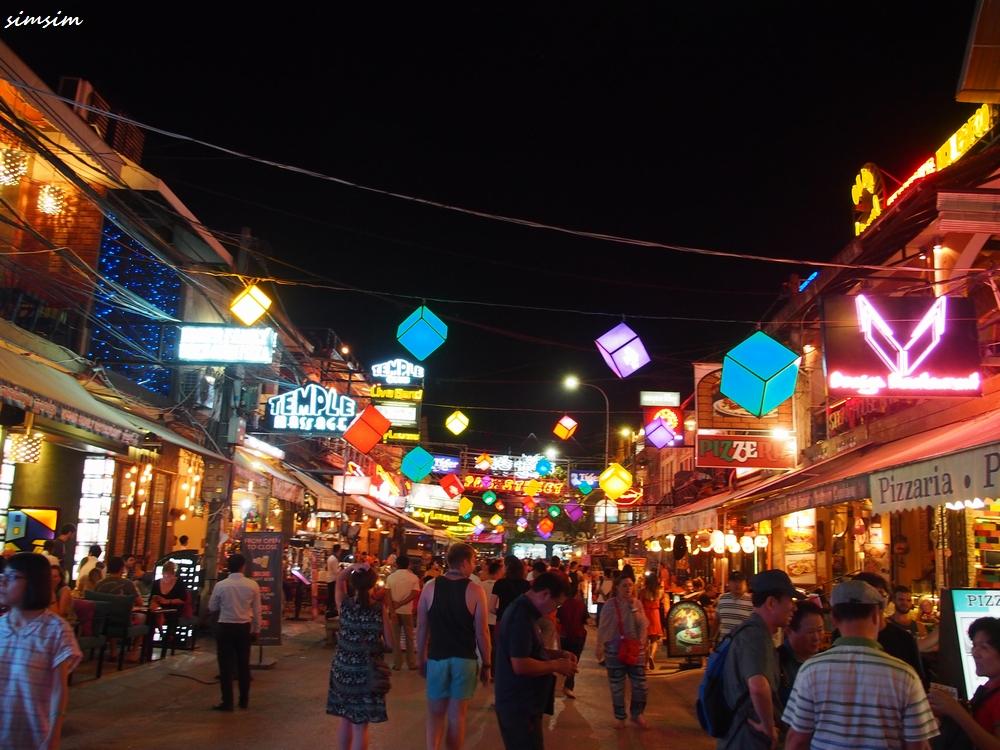 カンボジアパブストリート