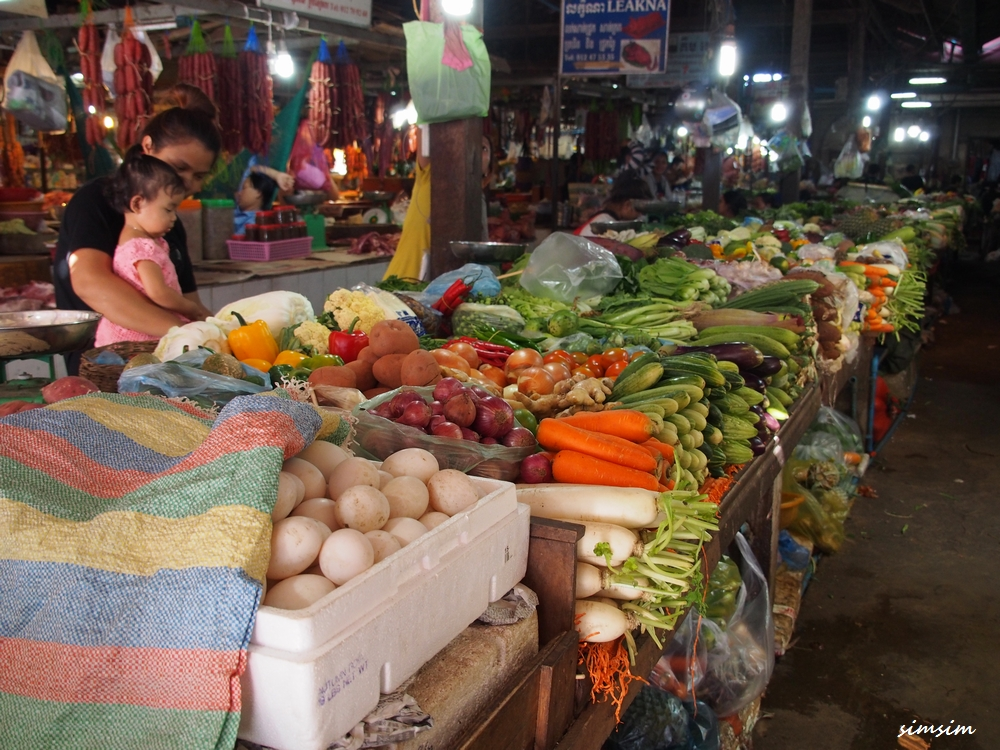 カンボジアオールドマーケット