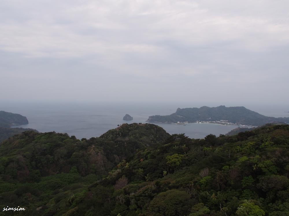 父島中央山展望台