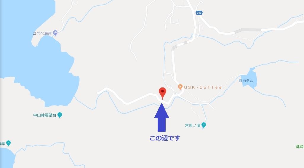 小笠原小湊海岸駐車場