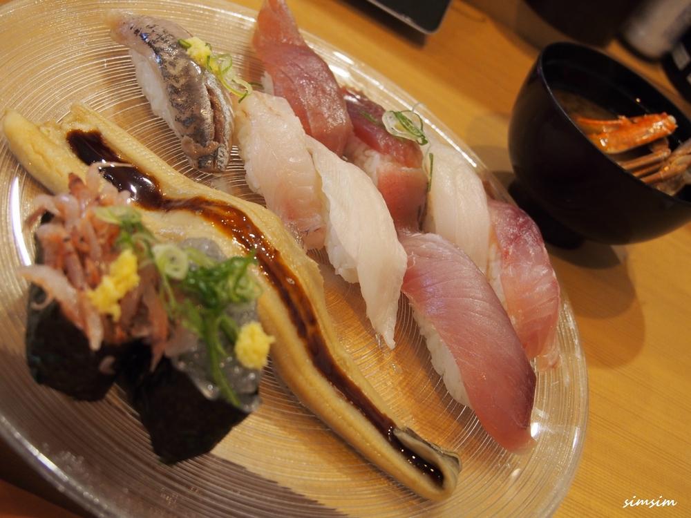 沼津回転寿司魚がし