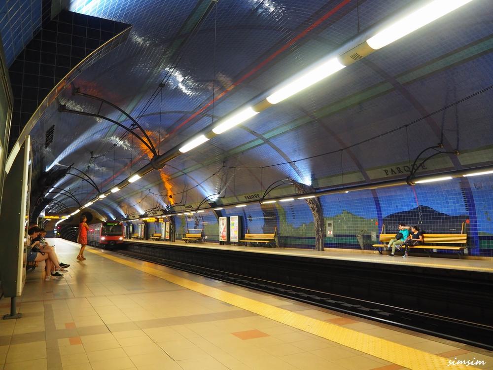 ポルトガルリスボン地下鉄