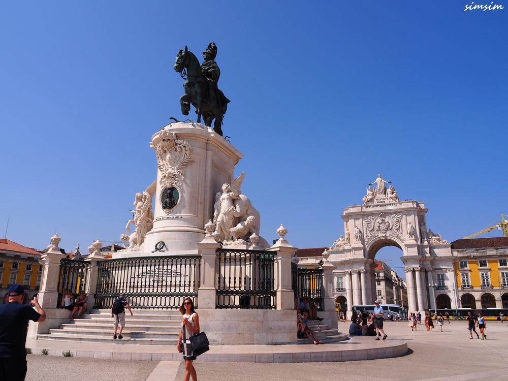 ポルトガルリスボンコメルシオ広場
