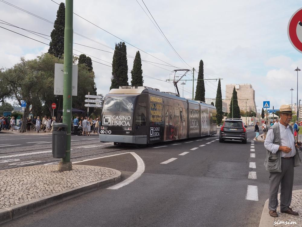 ポルトガルリスボン路面電車