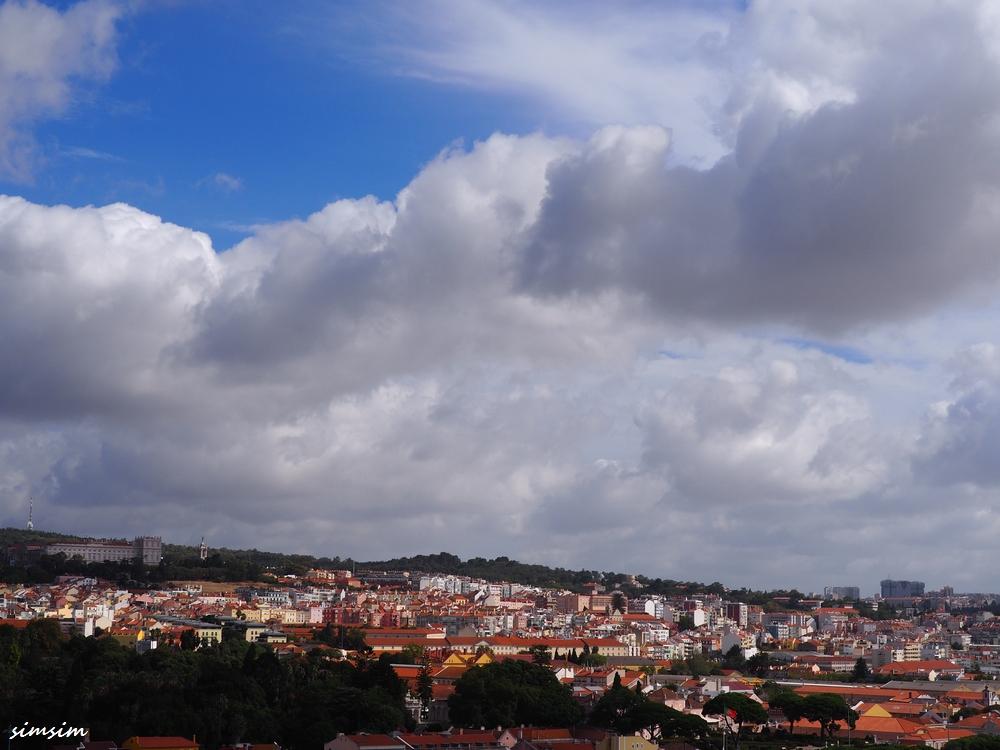 ポルトガルリスボン発見のモニュメント