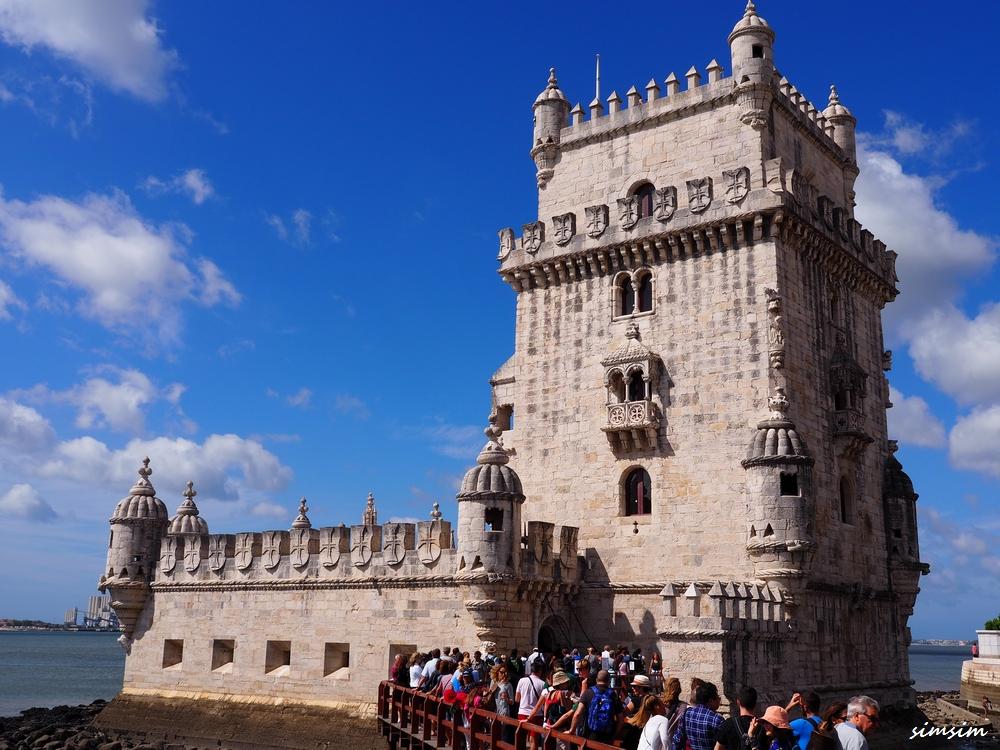ポルトガルベレンの塔