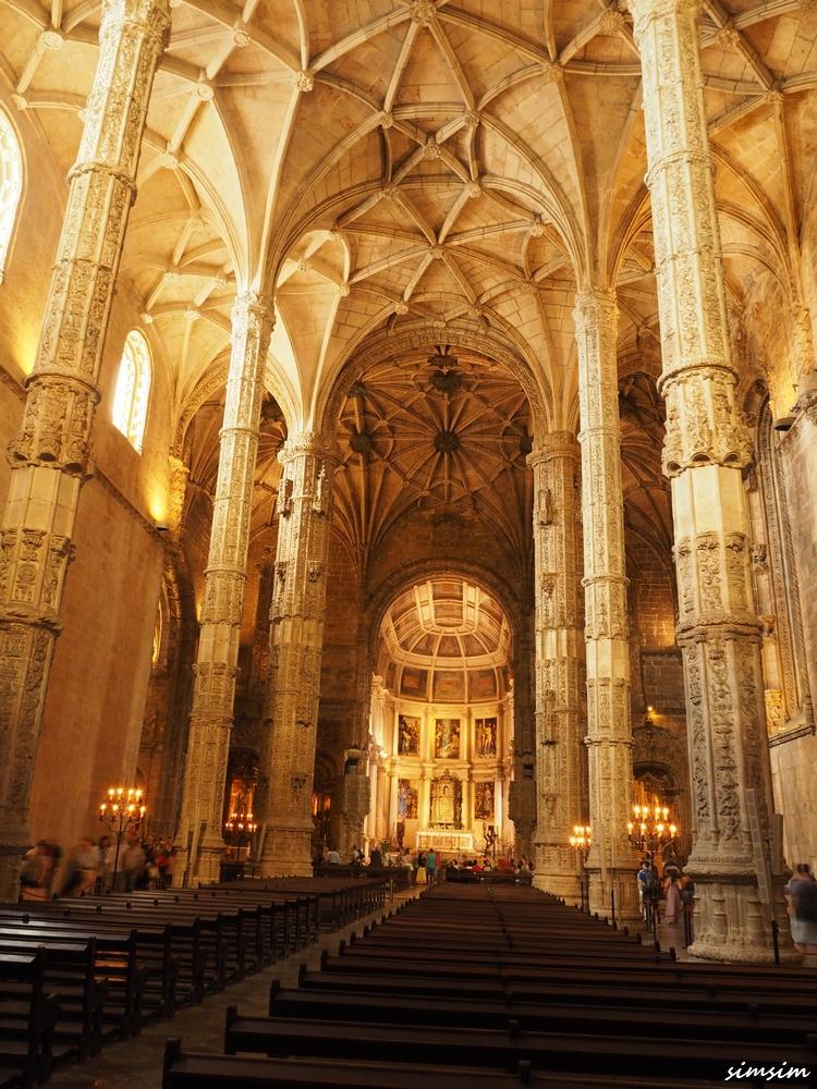 ポルトガルジェロニモス修道院