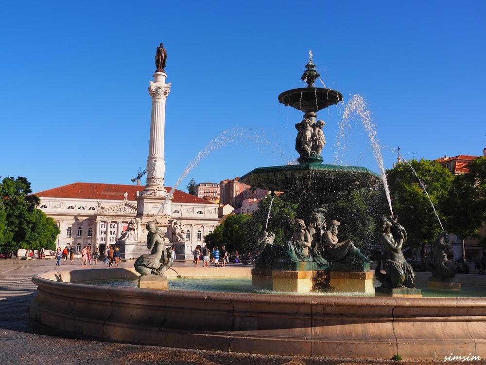 ポルトガルロシオ広場