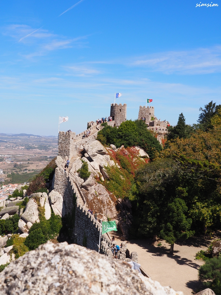 ポルトガルムーアの城跡