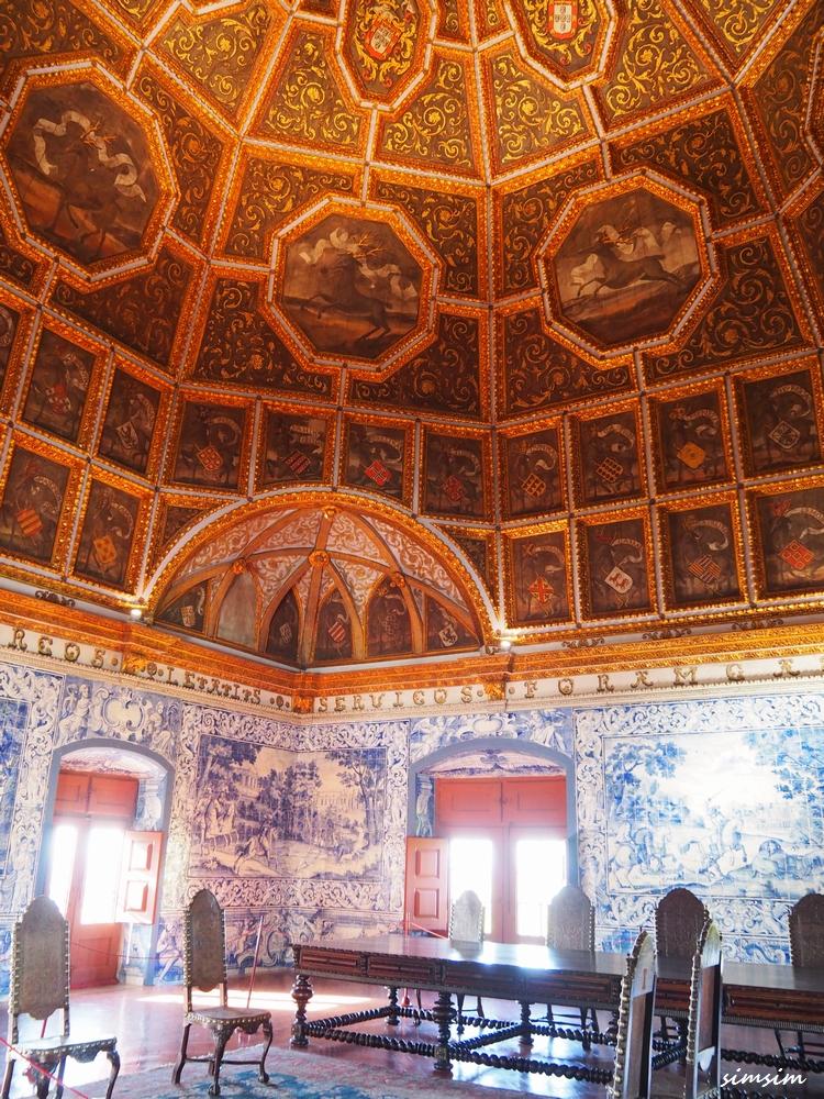 ポルトガルシントラ宮殿王宮