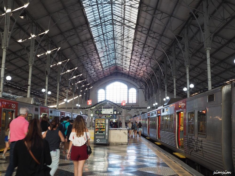ポルトガルロシオ駅