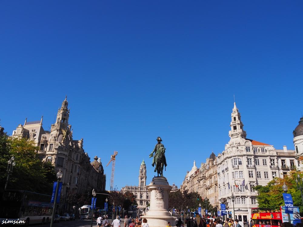 ポルトガルリベルダーデ広場