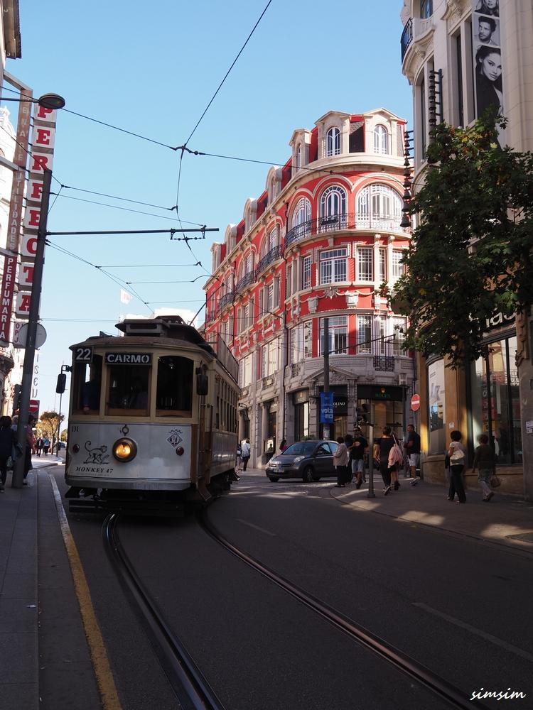 ポルトガルポルト路面電車