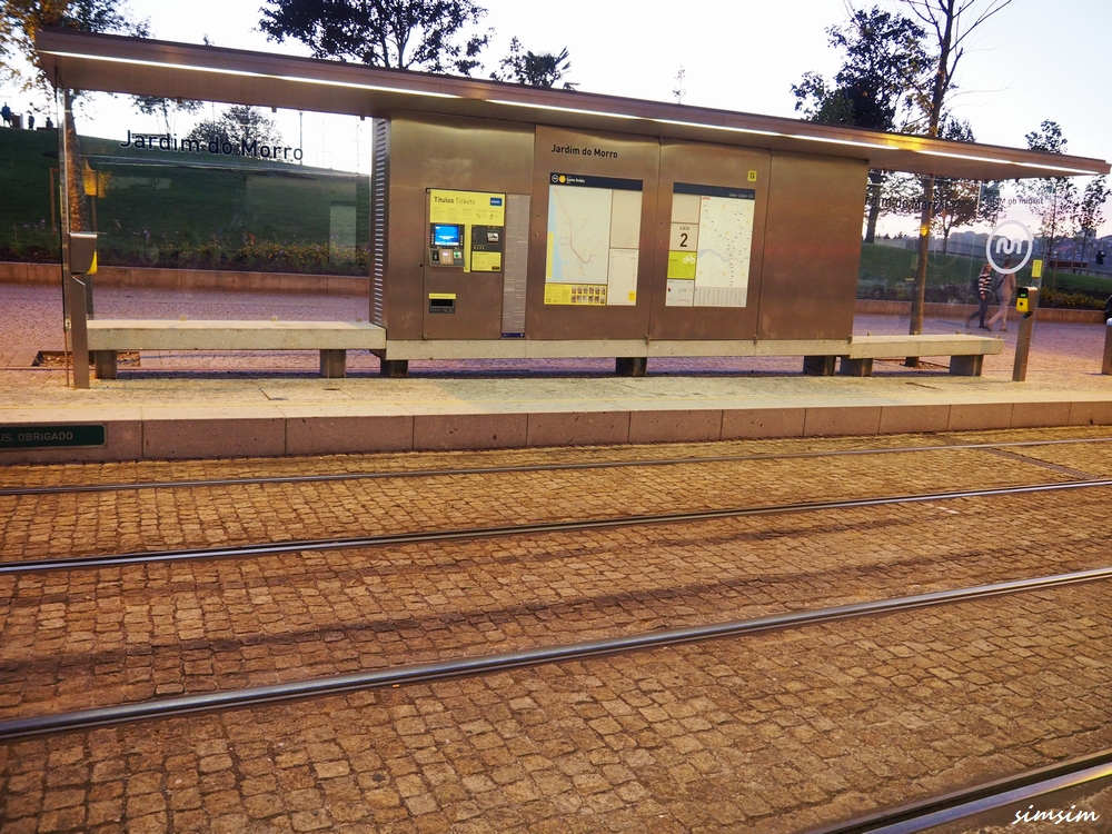 ポルトガルJardim do Morro駅