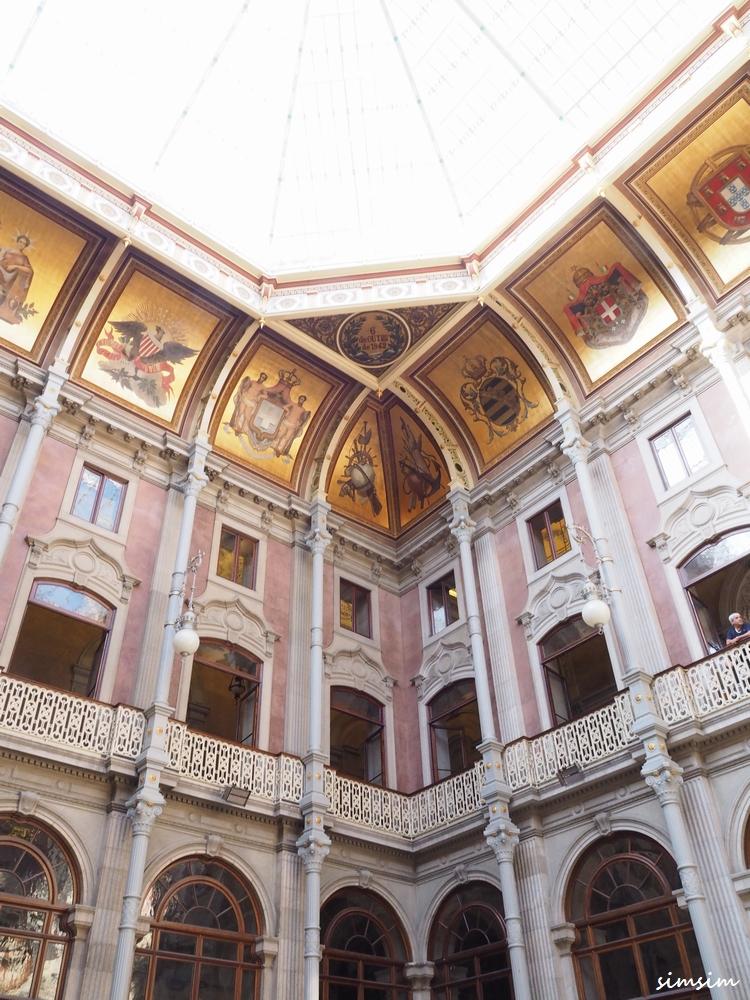ポルトガル ポルト ボルサ宮殿