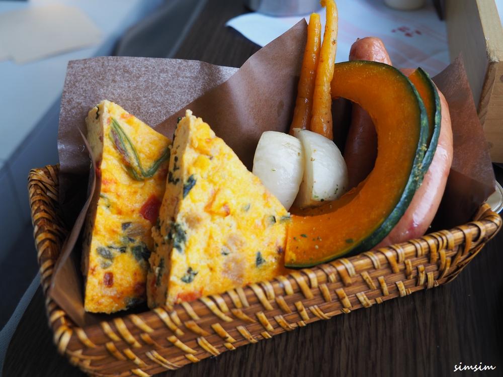 星のや富士の朝食