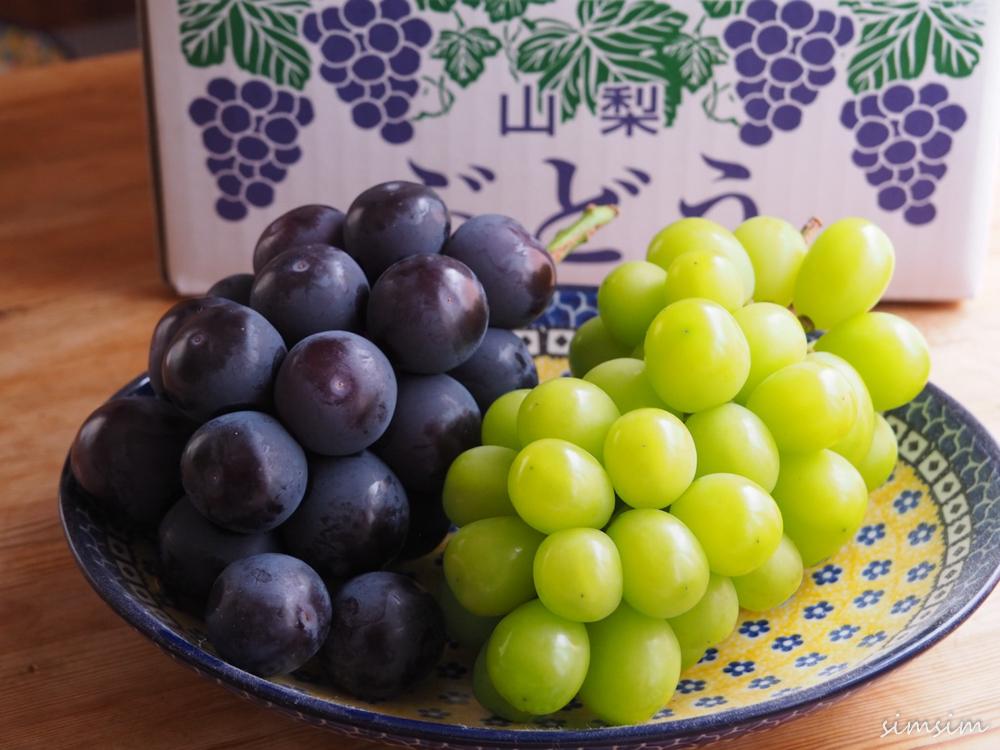 勝果園ブドウ