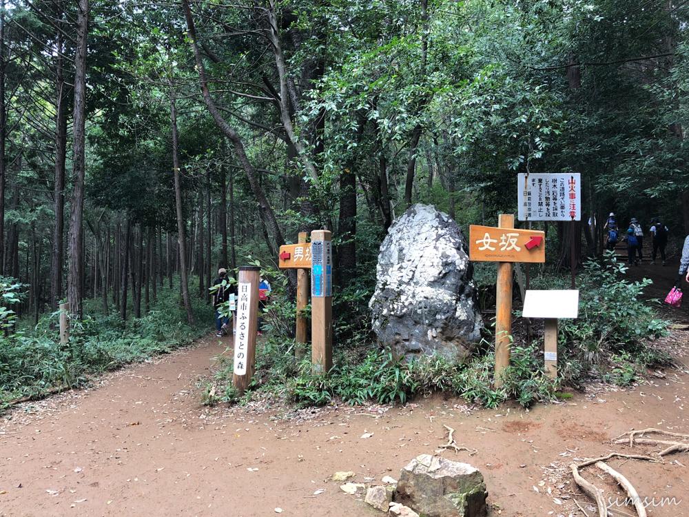 日和田山ハイキング」