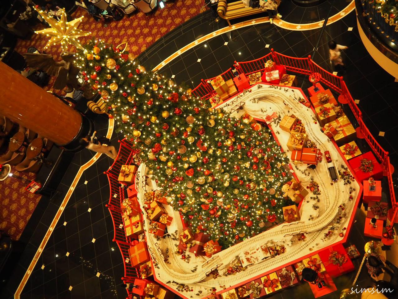 ウェスティンホテル東京クリスマスツリー