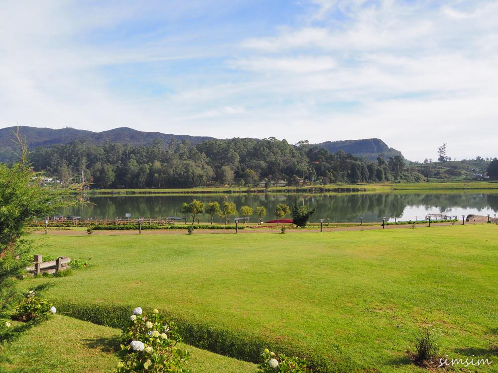 スリランカ旅行グレゴリー湖