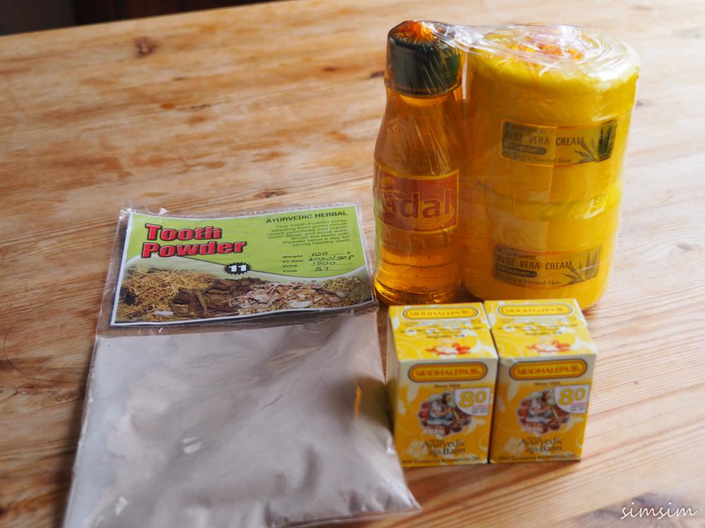 スリランカ旅行お土産