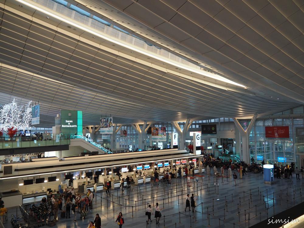 羽田空港飛行機撮影