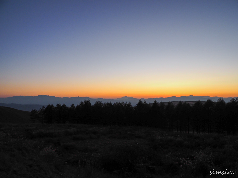 ビーナスライン霧ヶ峰富士見台